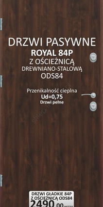 Drzwi Delta Royal 84P / PG